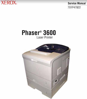 Xerox Phaser 3600 Service Manual