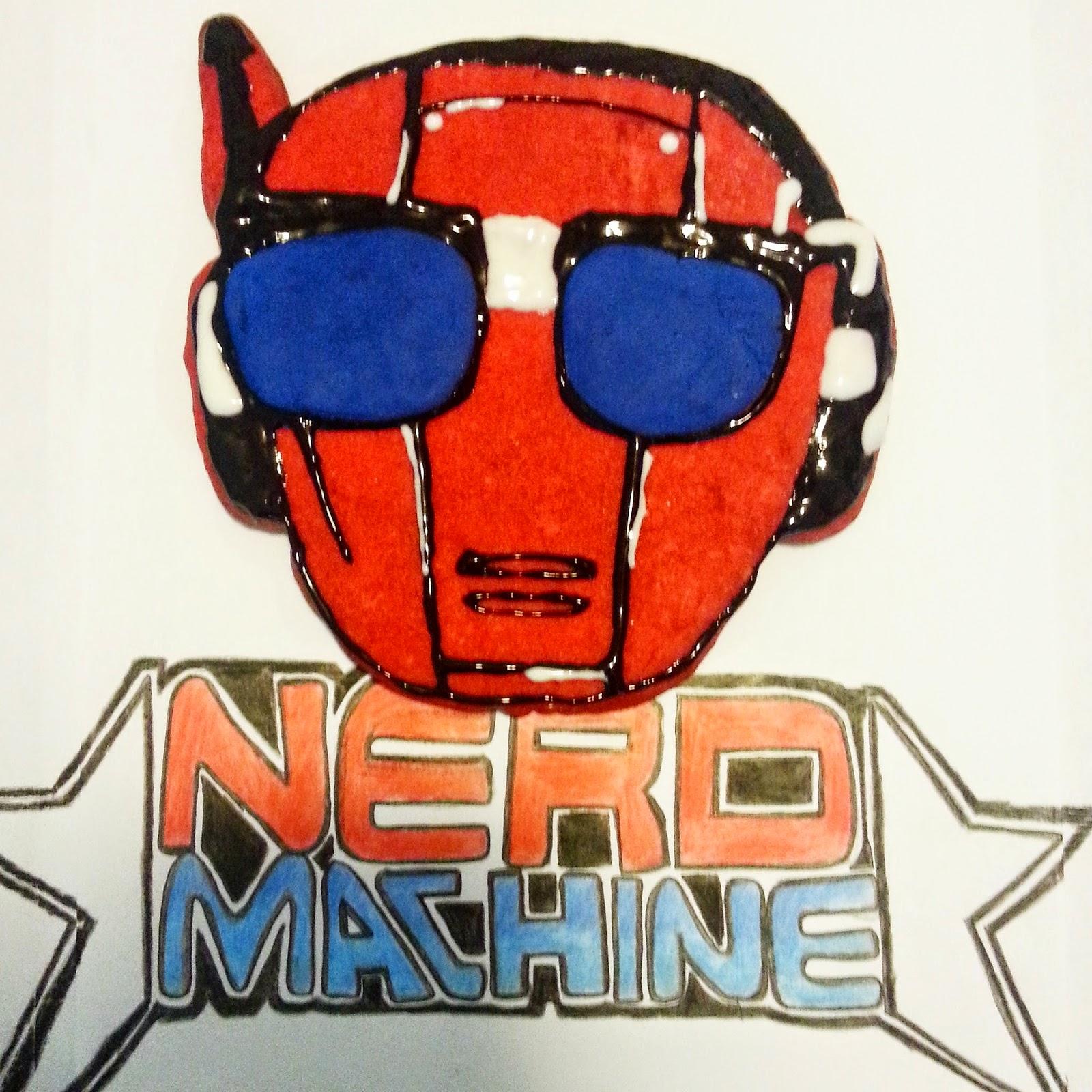 nerd machine, nerd hq, chuck, cookies, baking