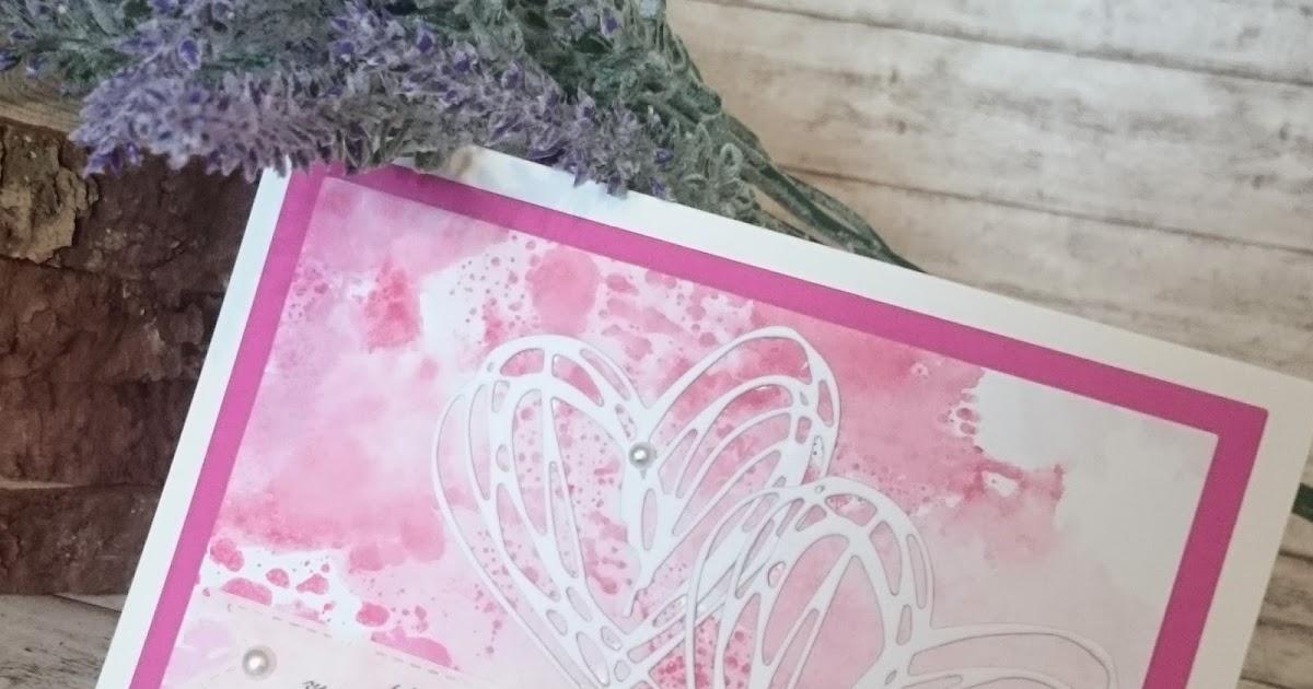 lucciola diy water coloured wedding card hochzeits