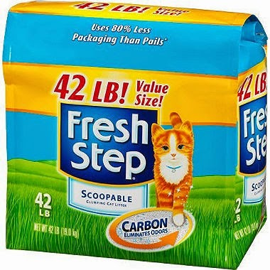 Fresh Step Cat Litter with Odor Shield (42 lbs) Just $10.74 After Coupons