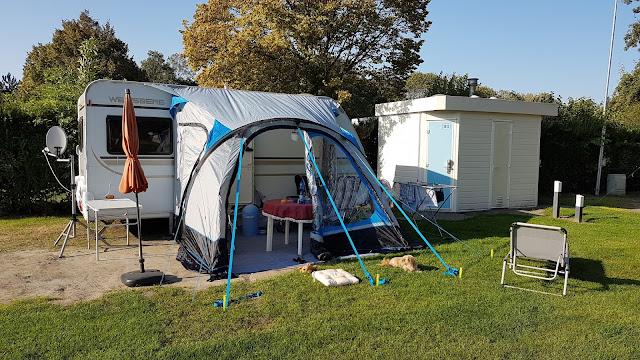 Unser Stellplatz 1812 auf dem Campingplatz Roompot Beach Resort in Kamperland