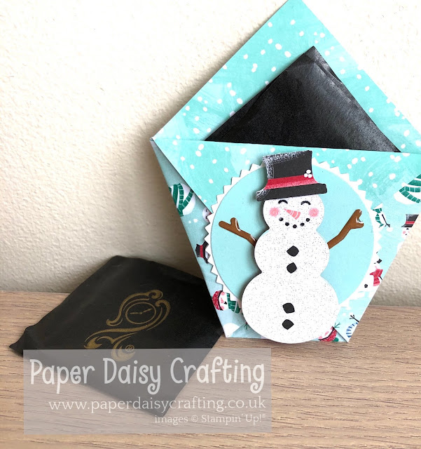 Let It Snow Treat Pouch Stampin Up
