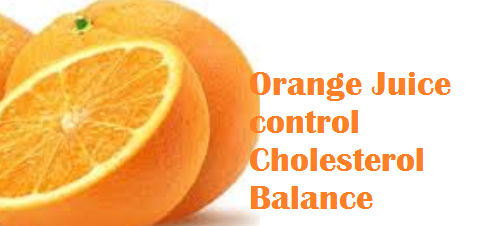 Health benefits Orange Juice control Cholesterol Balance