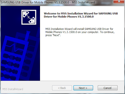 Driver USB Smartphone Samsung