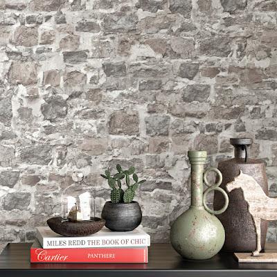 Papel Pintado Piedra Rustica 10092-02