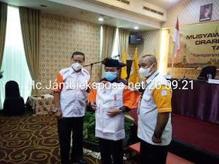 Gubernur Jambi Secara Resmi Membuka Musdalub ORARI Daerah Jambi.