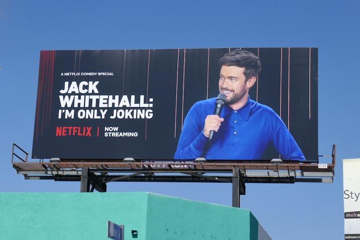 Jack Whitehall Im Only Joking billboard