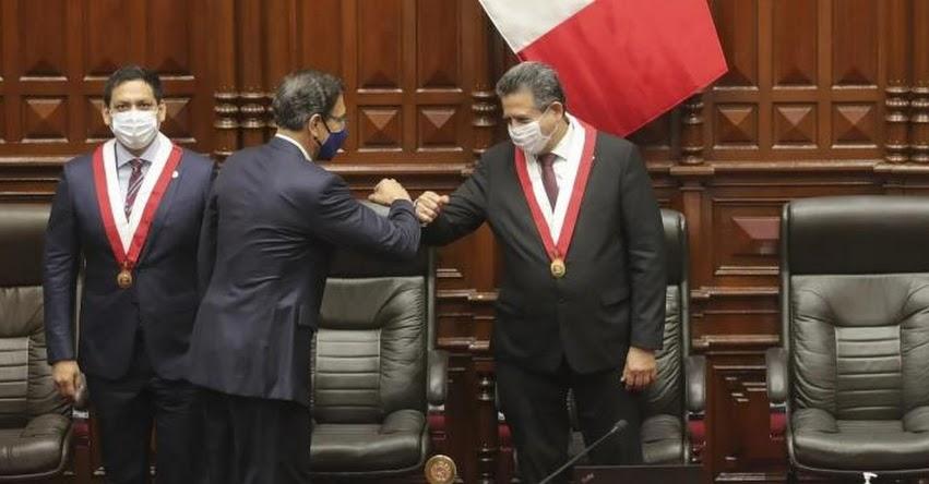 NUEVO PRESIDENTE DEL PERÚ: Manuel Arturo Merino de Lama (9 Noviembre 2020)