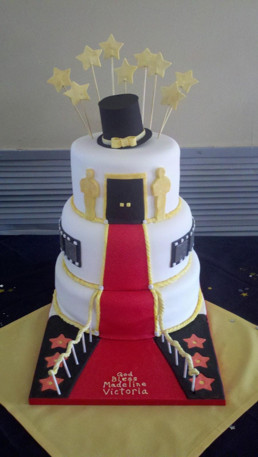 Deb S Custom Cakes Hollywood Cake
