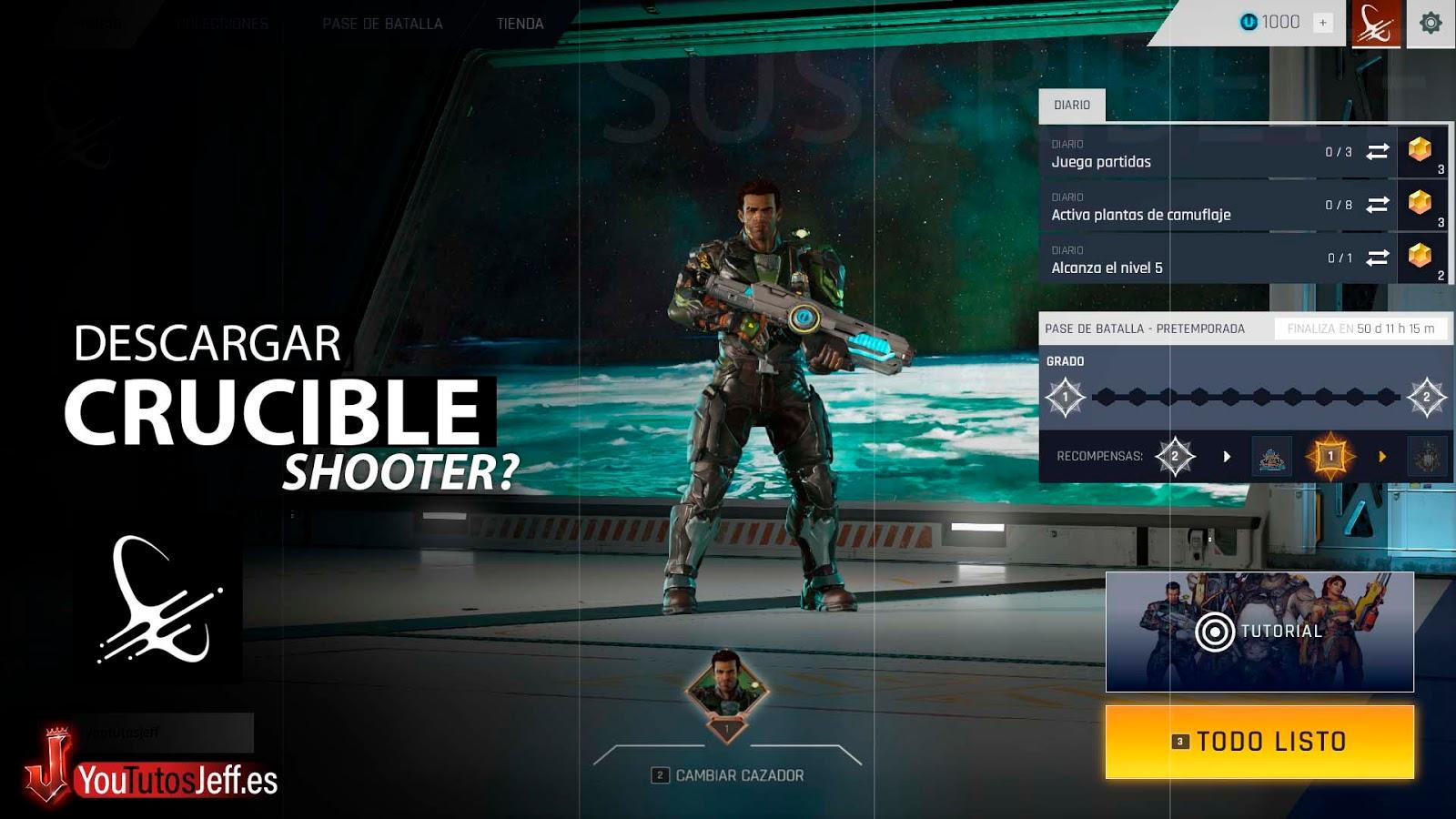 Nuevo Shooter, Descargar Crucible para PC Gratis