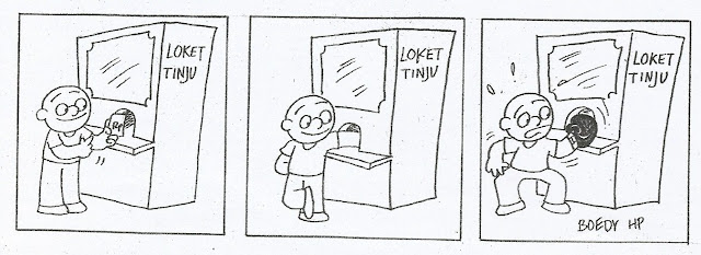 Komik Strip Loket Tinju karya Boedy HP