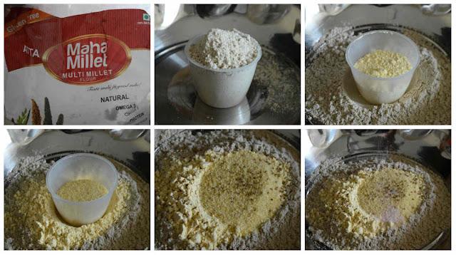 Millet Ajwain Sticks/Millet Omam Biscuit (No Baking)