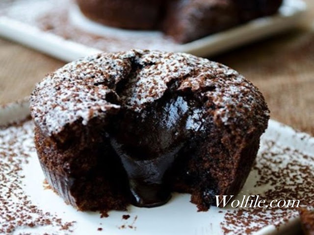 Keto Lava Cake Recipe #Keto #Cake