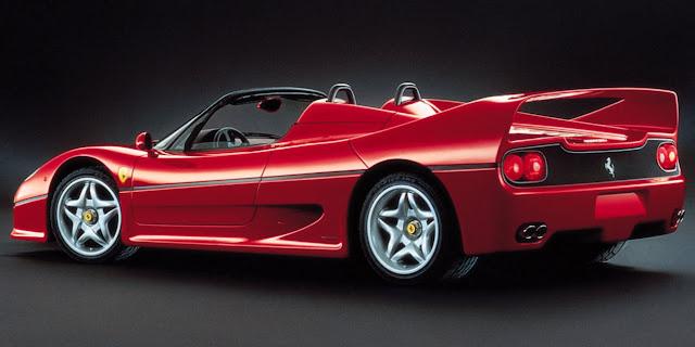 フェラーリ 歴代の名車 F50