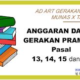 Anggaran Dasar (AD) Pramuka Terbaru Hasil Munas 2018 (isi Pasal 13, 14, 15, 16)