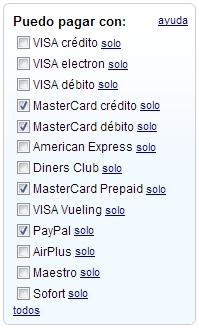 """Recordar al elegir las opciones que una """"Visa Débito"""" no es la típica prepago """"Visa electrón"""""""