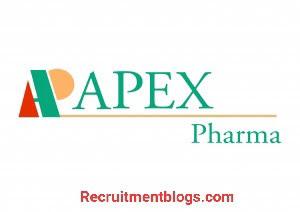 QC Raw Materials Analyst At APEX Pharma