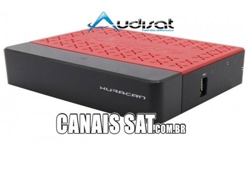 Audisat K20 Huracan Atualização V2.0.72 - 07/06/2021