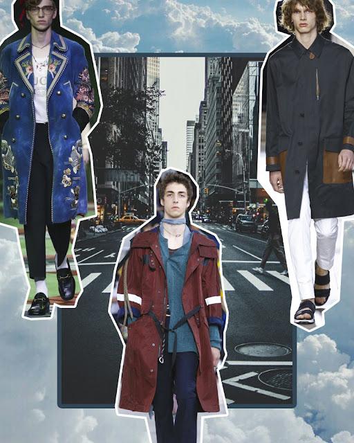 menswear trends long coats