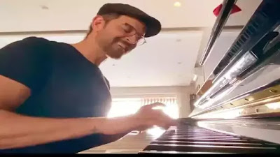 Hrithik Roshan plays Tere Jaisa Yaar Kahan song on the piano for I FOR INDIA