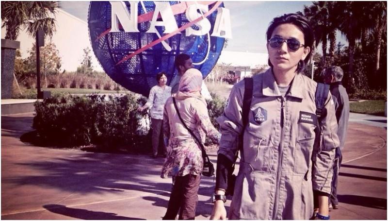 Rizman A Nugraha, calon astronot pertama Indonesia pemenang kontes AXE