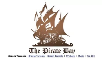 the pirate bay, sito più noto per ricerca file torrent