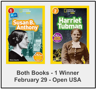 Early Reader Biographies: Harriet Tubman & Susan B. Anthony (Nat'l Geographic Kids)