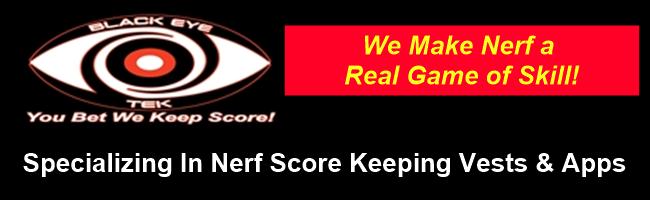 Nerf Score Keeping Target