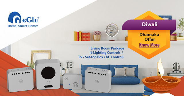 eGlu Home Automation Diwali Offer