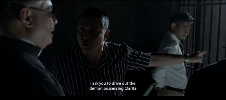 Clarita 2019 Philippine Horror movie based on the 1953 true story of Clarita Villanueva's paranormal and demonic possession in the Philippines