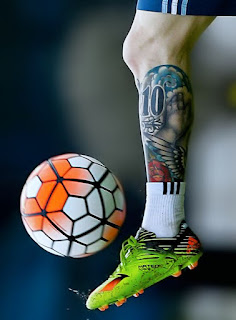 Tato di Kaki Lionel Messi