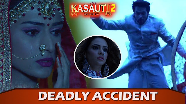What!  Anurag to die before marrying Prerna keeps waiting in wedding mandap in Kasauti Zindagi Ki 2