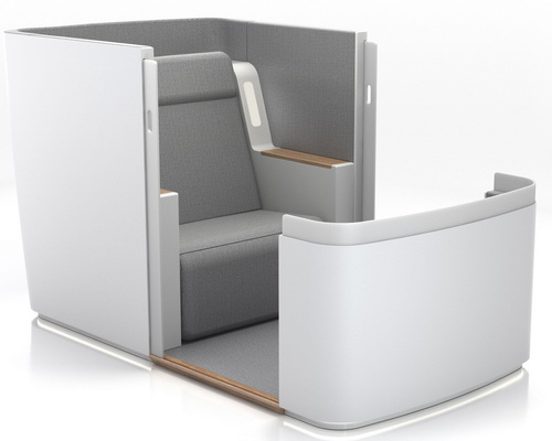 www.Tinuku.com Simba Sleep designed Air-Hybrid as the most sophisticated airline seat