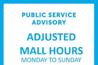#SMAnnouncement: Adjusted Mall Hours at SM City Urdaneta Central