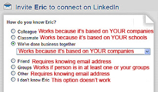 choose the best LinkedIn invitation option, inviting someone to connect on LinkedIn,