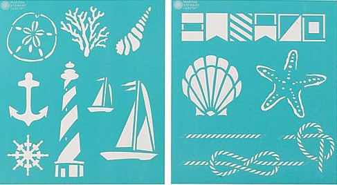 Nautical Martha Stewart Stencils