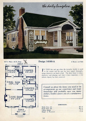 color image from Daily Bungalow showing plan-book design by CL Bowes publishing
