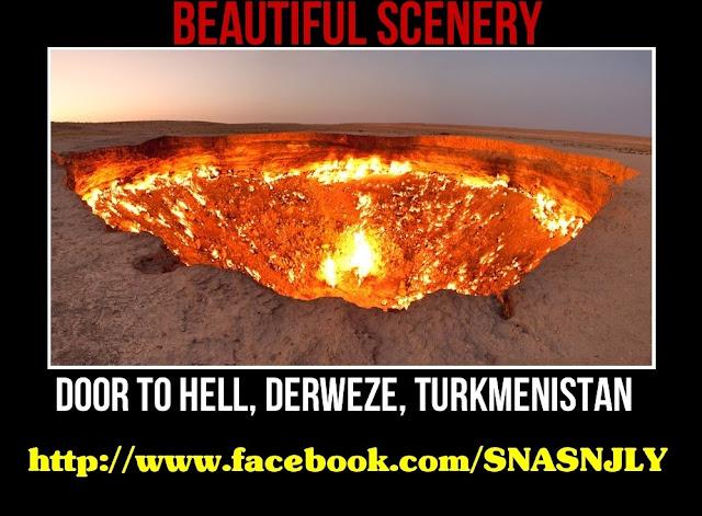 Door To Hell,Derweze, Turkmenistan,Beautiful scenery