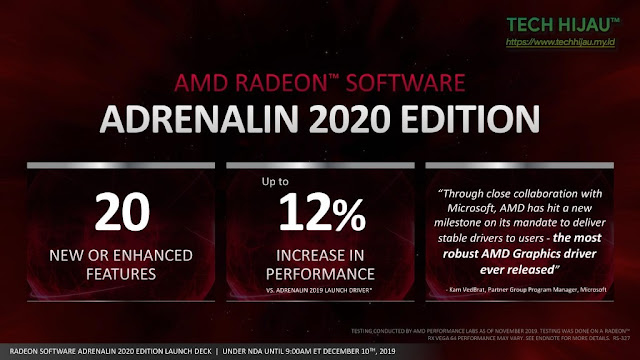 Tech Hijau™ — AMD Radeon Software Adrenalin 2020 Edition - Kata Microsoft (2)