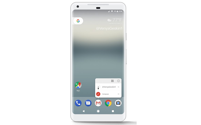Pixel XL 2 could Feature Always-On OLED Display and Squeezable frame