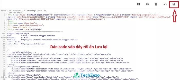 Download VTrick Creative Blogger Template v1.5.11