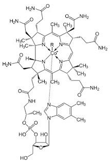 Structure of vitamin B12