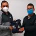 ALCALDE DE IXTENCO ENTREGA UNIFORMES A POLICÍAS MUNICIPALES
