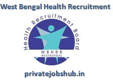 West Bengal Health Recruitment