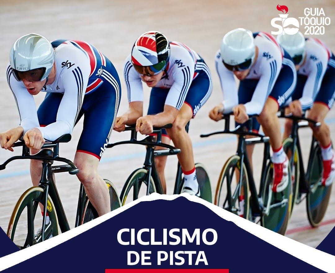 Como funciona o ciclismo de pista na Olimpíada