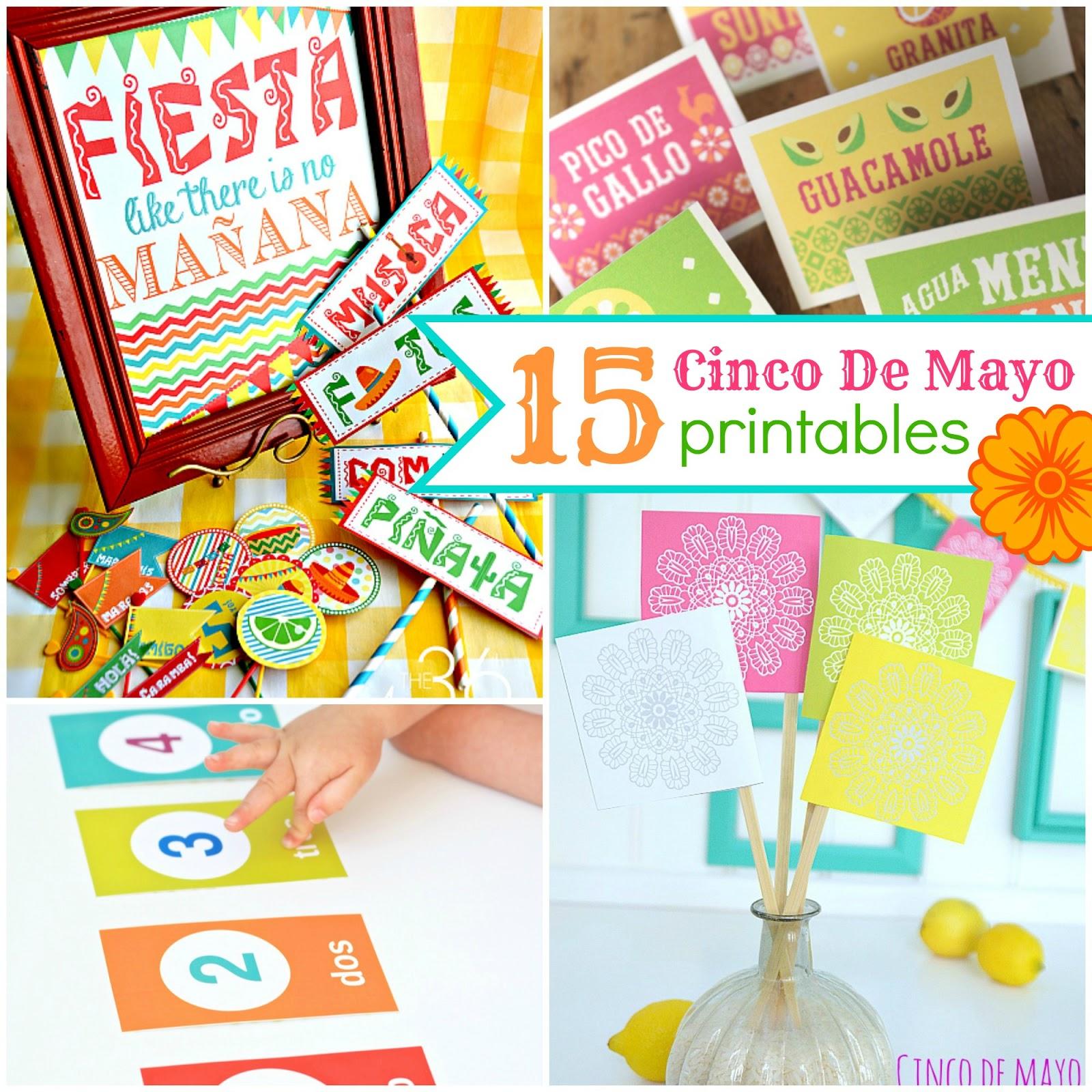 15 Cinco De Mayo Printables