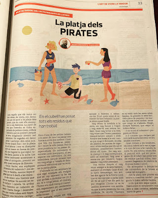 El diario Eco de Sitges publica relatos de autores de la comarca