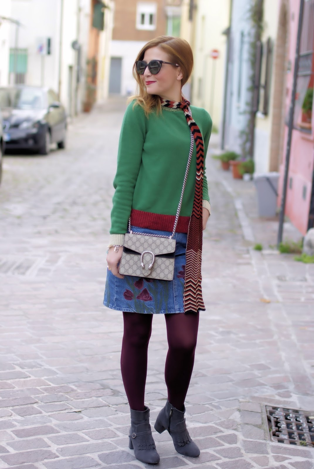 Gucci style look on Fashion and Cookies fashion blog, fashion blogger style