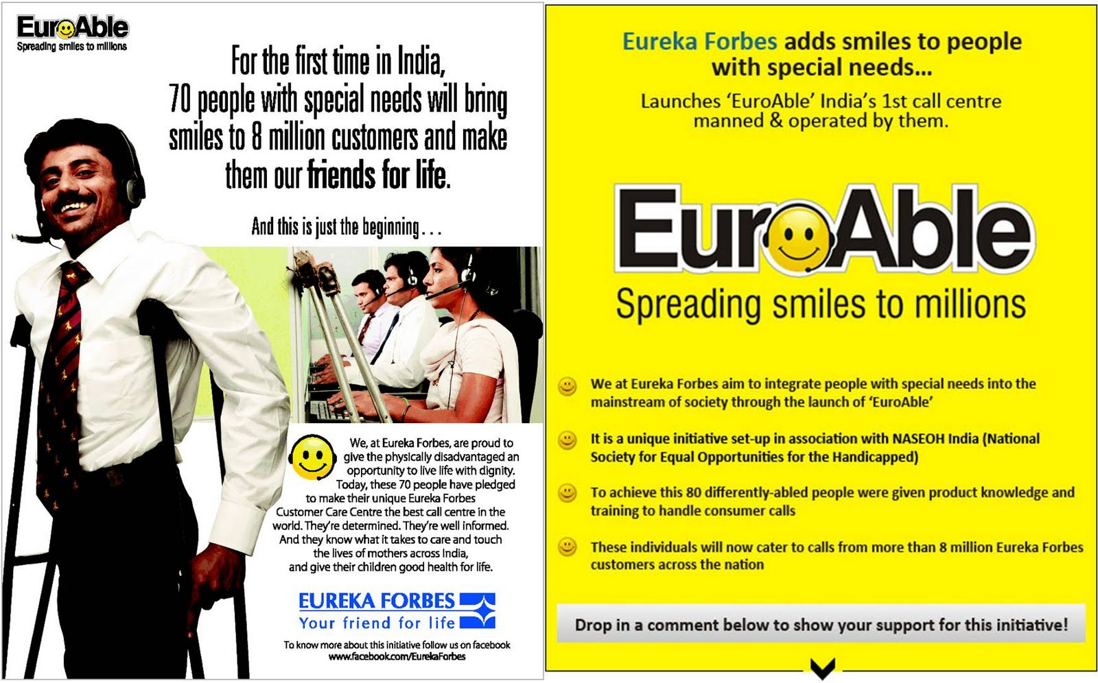 Rideau India: EuroAble - CSR in Action