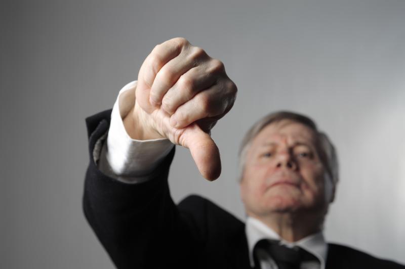 5 sinais de uma gestão ruim
